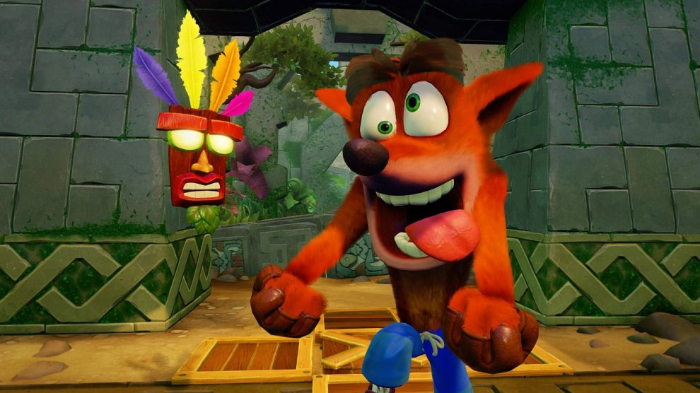 صدر بازار بریتانیا به بازی Crash Bandicoot N. Sane Trilogy رسید