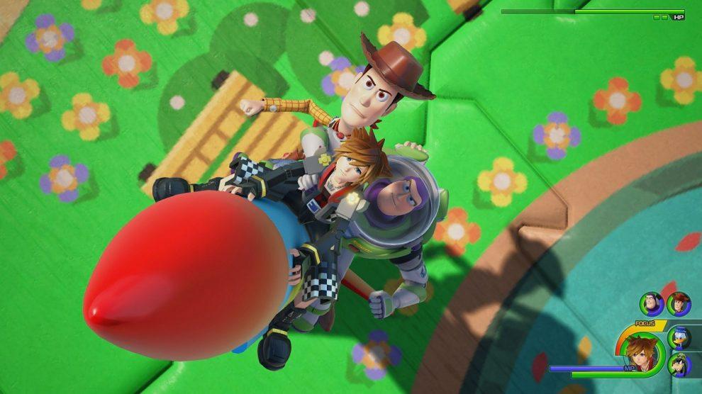 خط داستانی بازی Kingdom Hearts 3 حدود 50 ساعت محتوا دارد