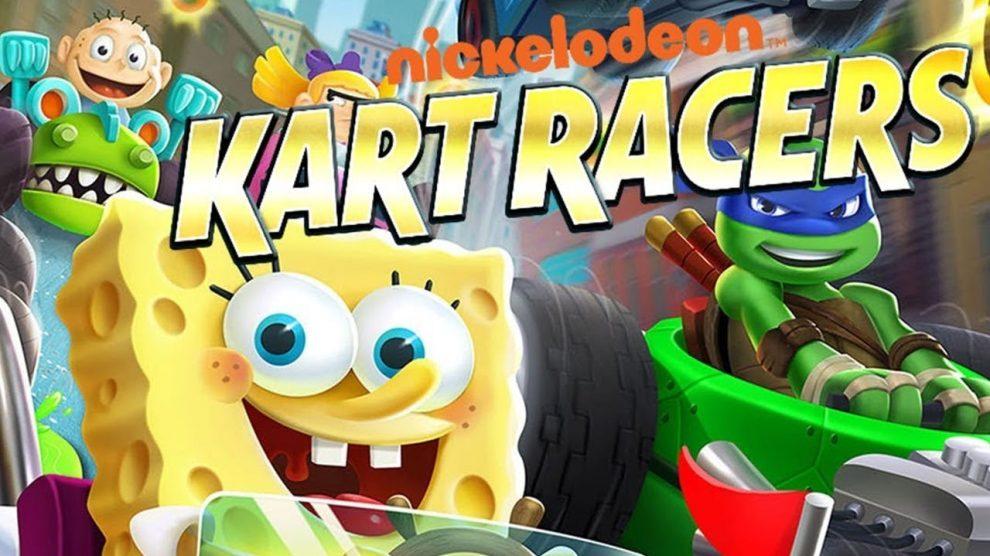 بازی Nickelodeon Kart Racers