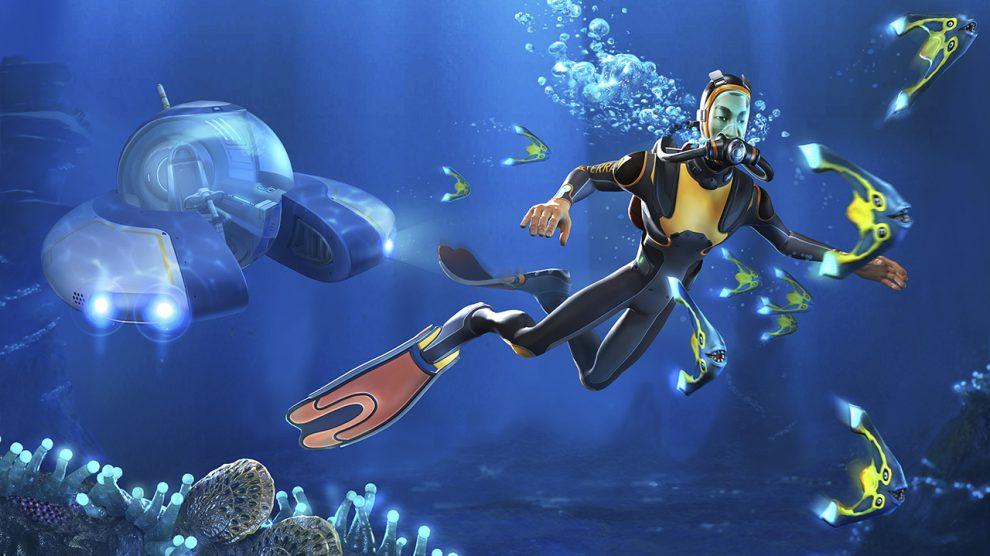 عرضه بازی Subnautica برای PS4