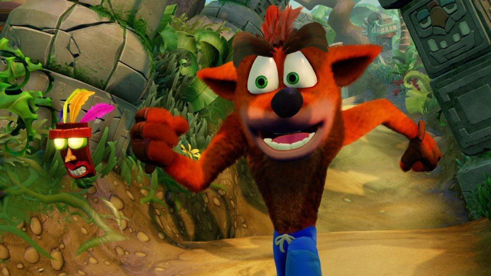 بازگشت بازی Crash Bandicoot N.Sane Trilogy به صدر جدول بریتانیا