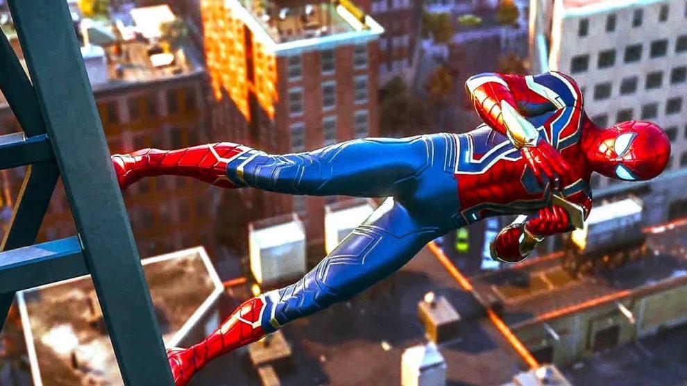 پیتر پارکر در بازی Spider-Man