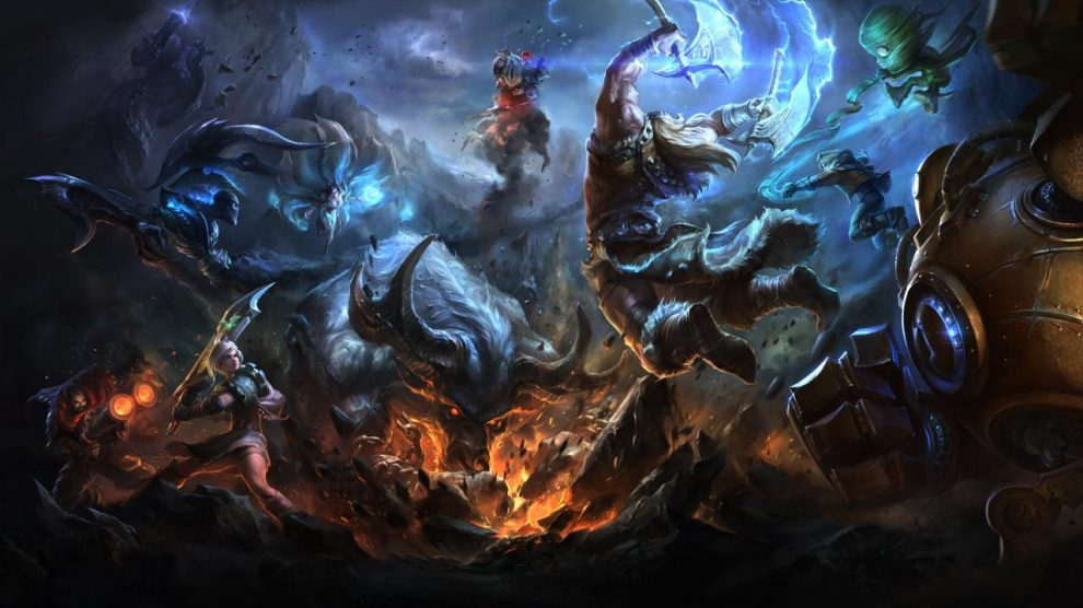 سازندگان بازی League of Legends