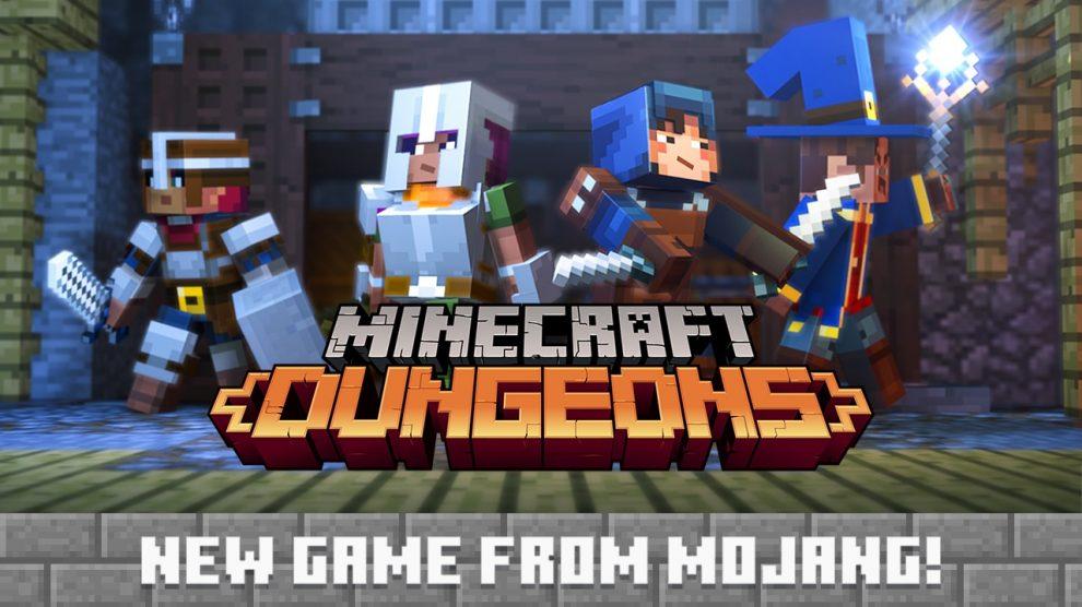 بازی Minecraft: Dungeons معرفی شد