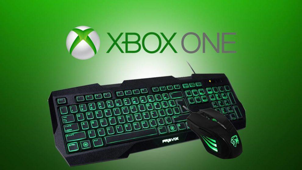 تایید پشتیبانی Xbox One از موس و کیبورد