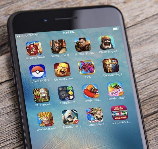 اختصاص 76 درصد درآمد اپلیکیشنهای موبایل به بازیهای ویدئویی