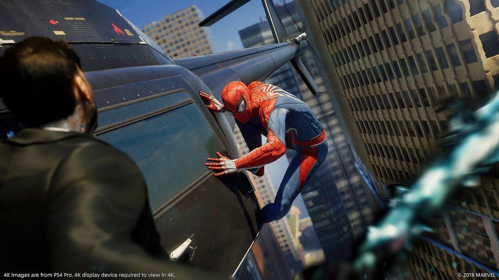 تمسخر وضعیت گرافیکی Spider-Man از سوی سازندگان Anthem