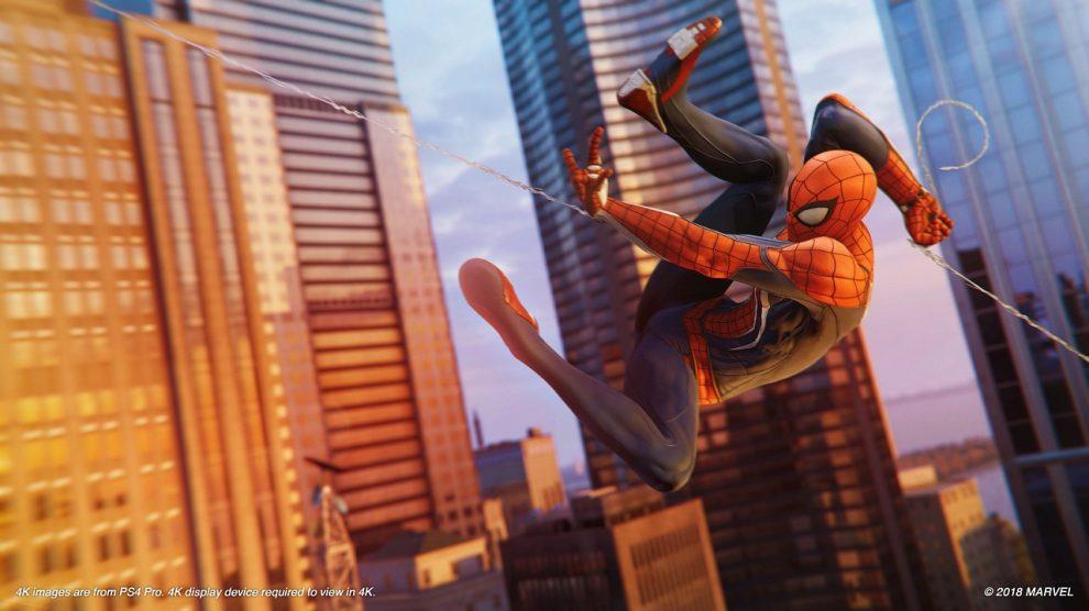 صدرنشینی بازی Spider-Man در فروش دیجیتال PS4