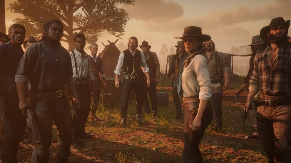 حضور هزار صداگذار در Red Dead Redemption 2