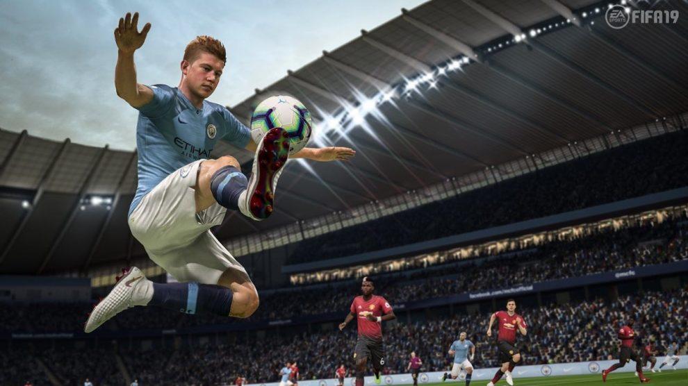 همچنان FIFA 19 در برتیانیا بیرقیب است