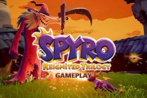 Spyro Reignited Trilogy Gameplay