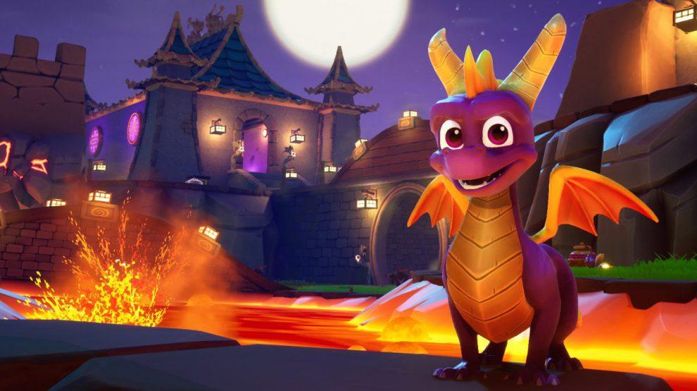 صدرنشینی بازی Spyro Reignited Trilogy در بازار بریتانیا