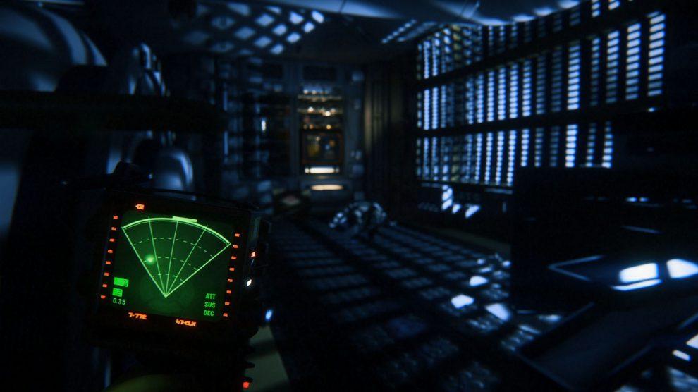 در ابتدا بازی Alien: Isolation اثری سوم شخص بود