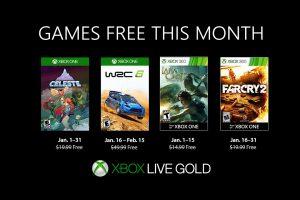 معرفی بازیهای رایگان ژانویه Xbox Live Gold