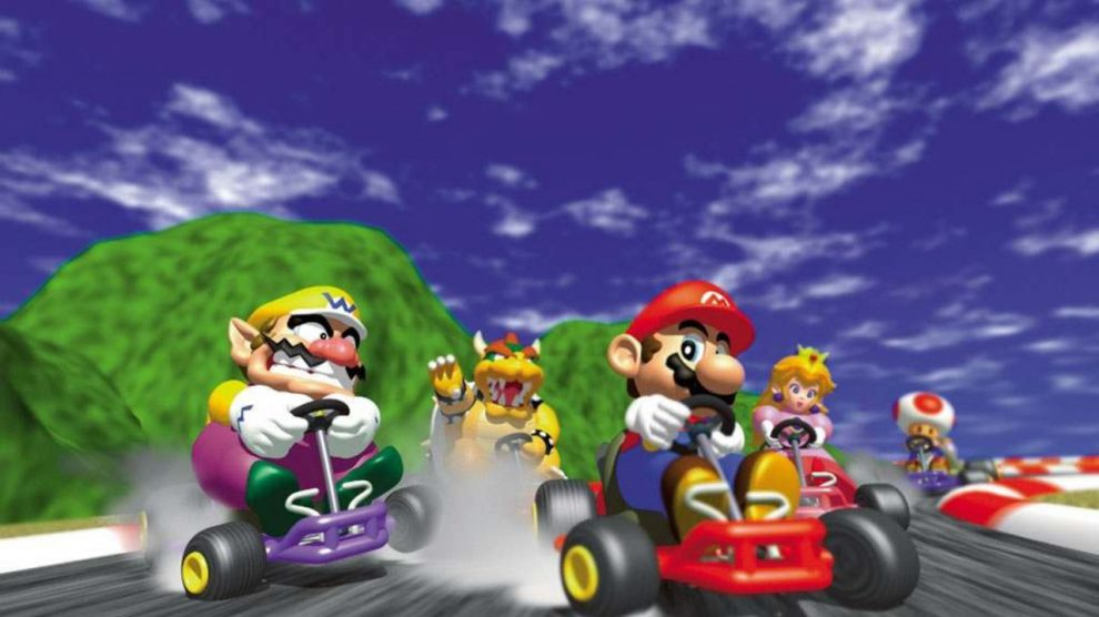 زندگی مشترک آقا و خانم Mario Kart 64