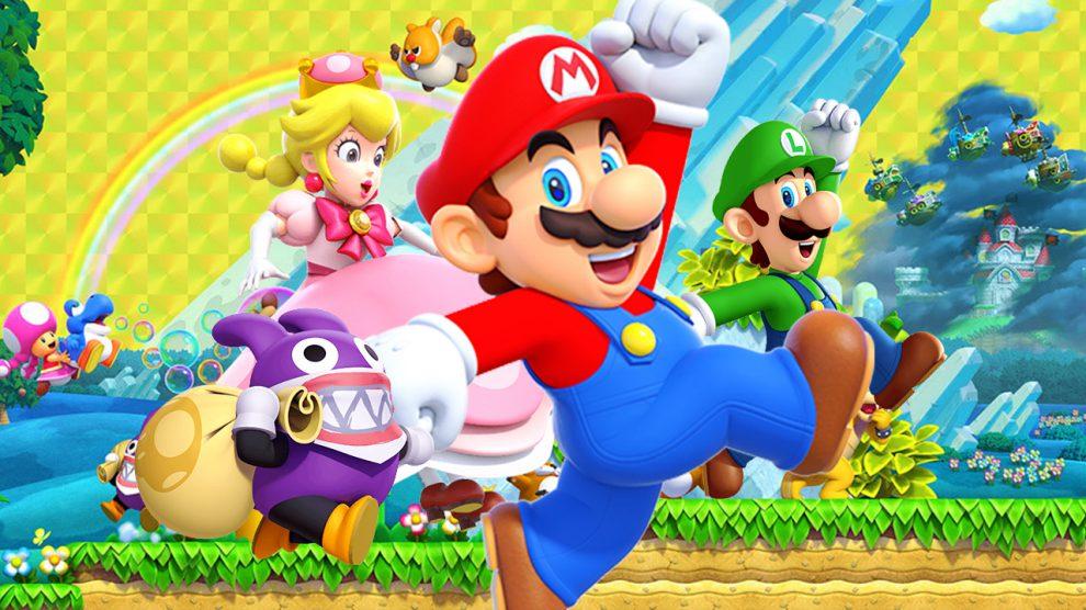 صدرنشینی New Super Mario Bros U Deluxe در هفته اول انتشار
