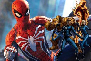 منتظر محتوای Fantastic Four در بازی Spider-Man باشید