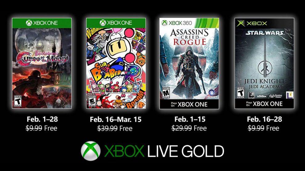 معرفی بازیهای رایگان فوریه Xbox Live Gold