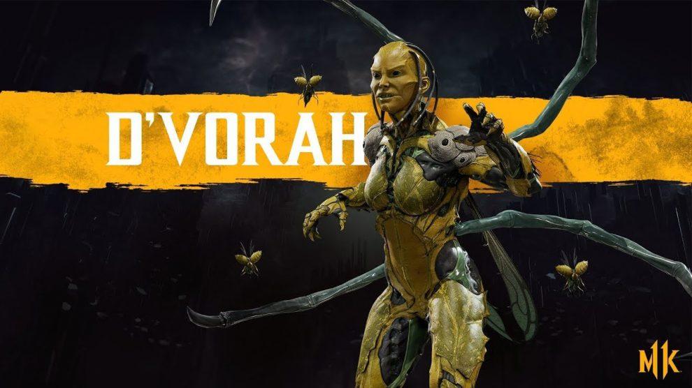حضور شخصیت D'Vorah در بازی Mortal Kombat 11