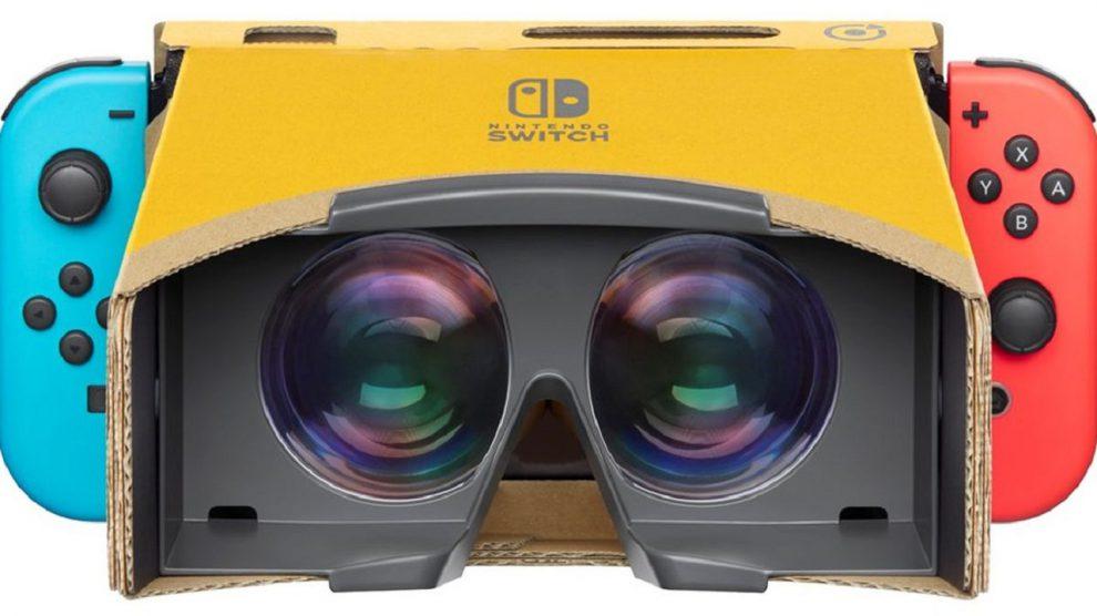 معرفی کیت واقعیت مجازی Nintendo Labo برای Switch