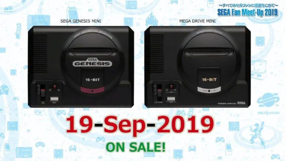 اعلام تاریخ عرضه کنسول SEGA Genesis Mini