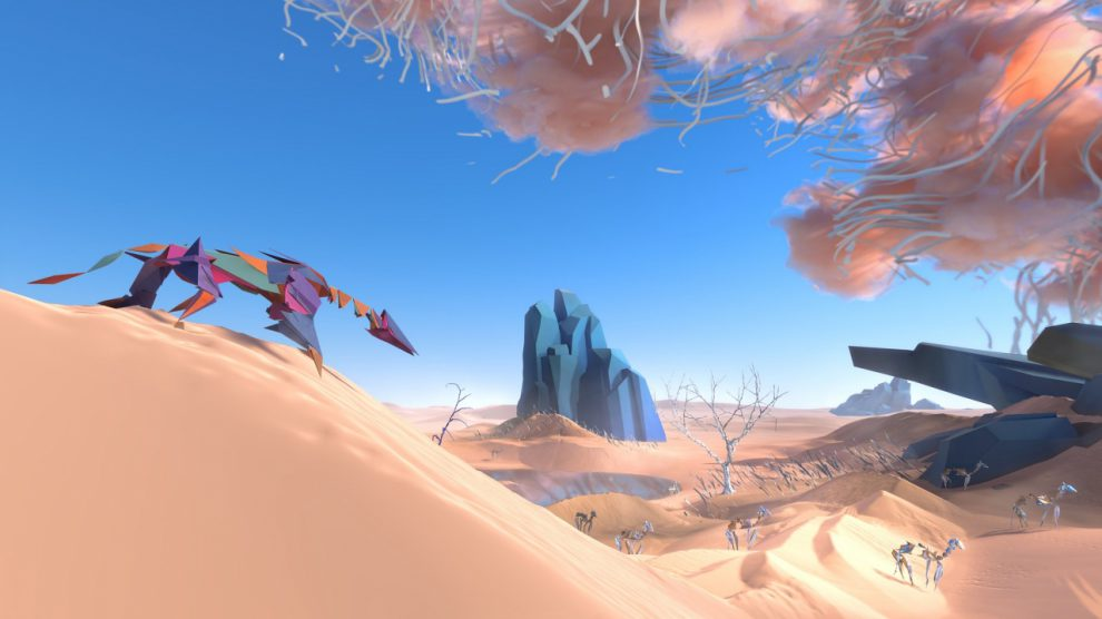 معرفی بازی Paper Beast توسط خالق Another World