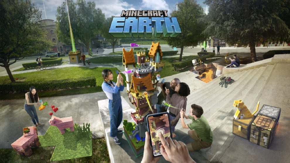 بازی Minecraft Earth معرفی شد