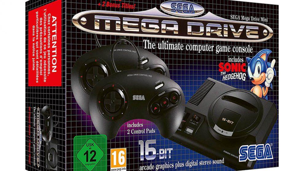 تاخیر در عرضه Sega Mega Drive Mini