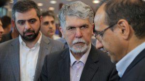 بازدید وزیر فرهنگ و ارشاد اسلامی از جام قهرمانان بازیهای ویدیویی