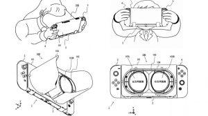 حق ثبت اختراع جدید نینتندو: Nintendo Switch VR