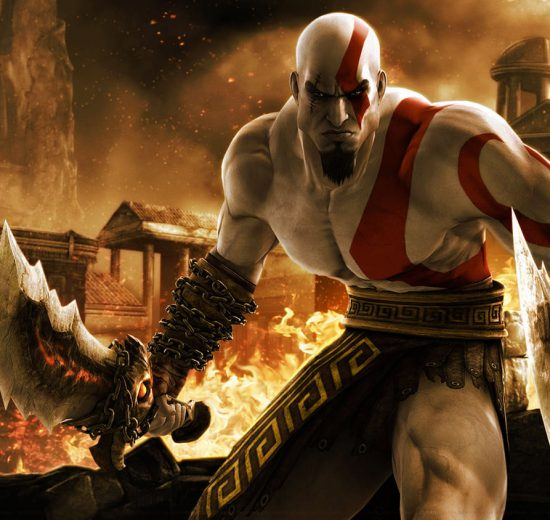 ساخت GOD of War 2005